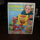 Vintage Mattel Knit Magic machine in original box with original Instructions.