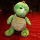 Ganz Webkinz Key Lime Dino HM 185. Tags but no code. Embroidered W on foot.