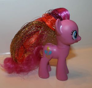 My Little Pony G4. 3.5 inches tall Pinkie Pie. 2011. Friendship is Magic Sparkle