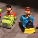 Vintage Peanuts pullback Charlie Brown, Woodstock, Lucy, Snoopy. Complete. 1989