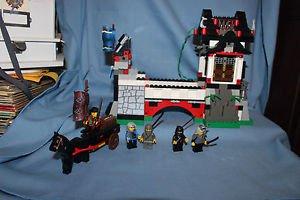 LEGO Ninja Stone Tower Bridge (6089). Complete, no box, printed instr.