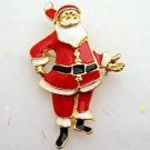 Santa Christmas Pin Brooch Holiday Jewelry