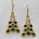 Christmas Tree Pierced Earrings Christmas Jewelry