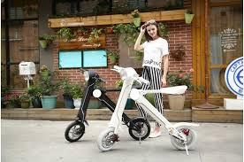 New design folding electric motorcycle 36V 250W e-bike