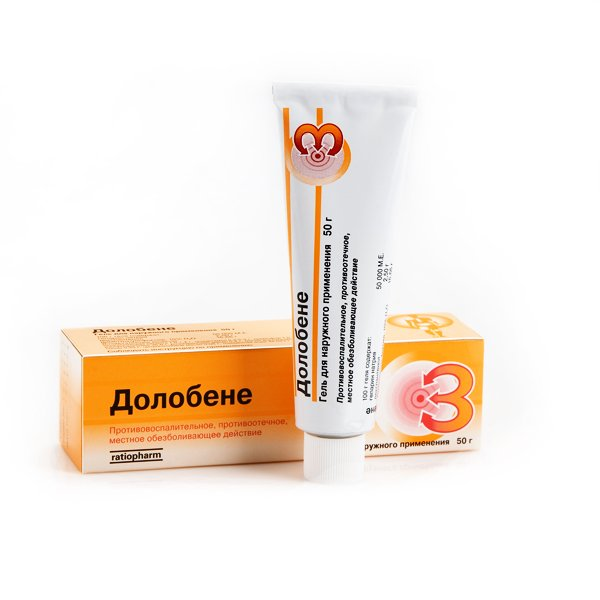Dolobene gel 50 gr Swelling, Hematoma, Inflammation, Muscles, Joints Pain Relief