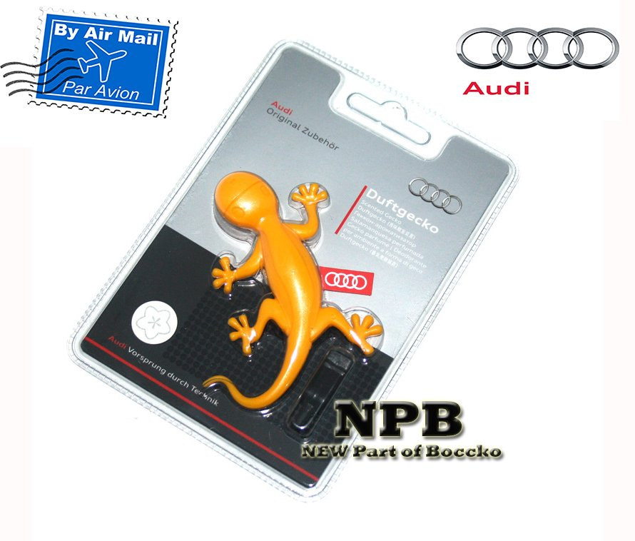 Audi Gecko Cockpit Air Freshener, Tropical Fruits