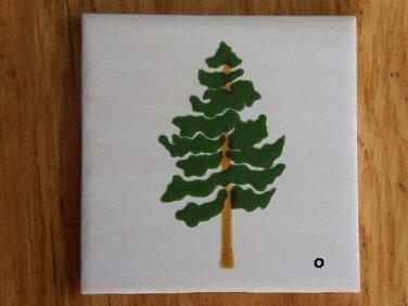 CERAMIC Pine Tree Tiles