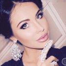 Glamorous Kardashian Inspired Womens Full Knuckle Ring - Silver plated