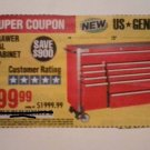 "Harbor Freight Coupon For 72"", 18 Drawer Industrial Roller Cabinet. SAVE $ 900.00"