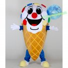 Free Shipping ice cream cone Mascot costume for promotion