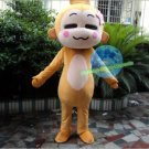 Free Shipping Lovely Monkey Mascot Costume for Halloween and Christmas event