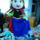 Free Shipping Frozen Anna  Mascot Costume for Halloween and party
