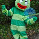 Free Shipping Yo Gabba Gabba Brobee  Mascot Costume for Halloween and party