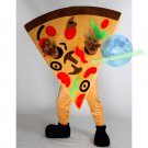 Free Shipping Pizza Mascot costume Food Mascot costume for Halloween and party events