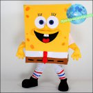 Free Shipping  Sponge Bob  Mascot costume Ice Age mascot for birthday party
