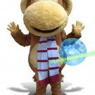 Free Shipping Big Mouth Monkey  Mascot Costume for Halloween and party