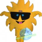 Free Shipping Sunflower Sun Mascot Costume for Halloween and party