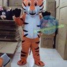 Free Shipping Orange Tiger Animal Mascot Costume for Halloween and party