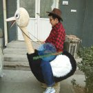 Free Shipping Carry Me Ostrich Animal Mascot Costume for Halloween and party