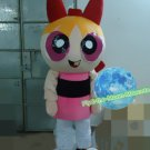 Free Shipping the Powerpuff girls mascot costume Mascot Costume for Adult Halloween costume