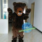Free Shipping vacifierce Brown Bear Mascot Costume for Halloween Party and Events