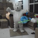 Free Shipping Polar Bear Mascot Costume for Birthday Party and Events