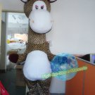 Free Shipping Giraff Animal Mascot Costume for Birthday Party Halloween Wedding Events