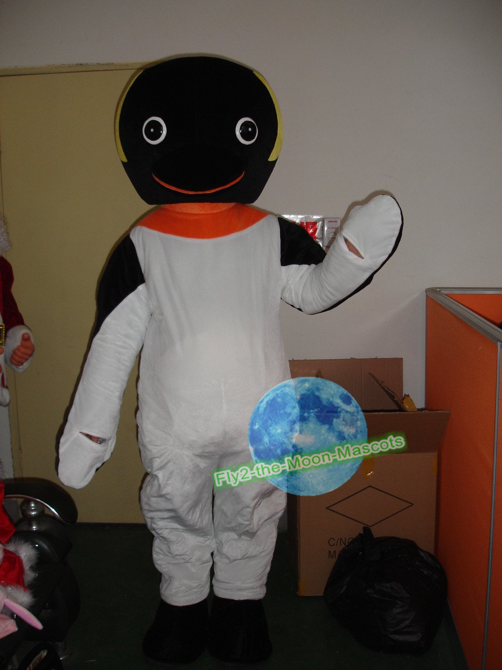Free Shipping Nils Olav King Penguin mascot costume  for Birthday Party and Wedding Party