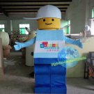 Free Shipping Lego Man mascot costume for Birthday Party and Wedding Halloween Christmas