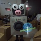 Free Shipping machine cow mascot costume Halloween Christmas Events
