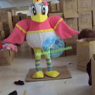 Free Shipping Girl Duck mascot costume Halloween Christmas Events