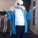 Free Shipping undertale sans cosplay costume Halloween Christmas Events
