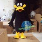 Free Shipping Black Duck mascot costume Halloween Christmas Event