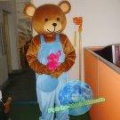 Free Shipping Teddy Bear Care Bear mascot costume Halloween Christmas Event