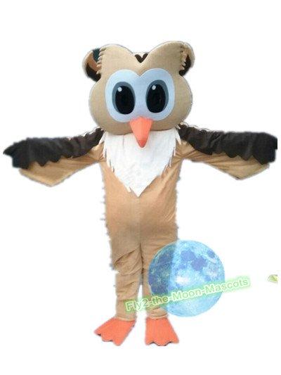 Free Shipping Owl Mascot mascot costume Halloween Christmas Event