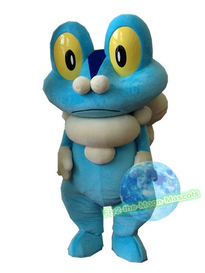 Free Shipping Pokemon Froakie mascot costume Halloween Christmas Event