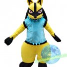 Free Shipping Lucario Pokemon mascot costume Halloween Christmas Event