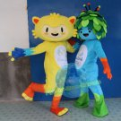 Free Shipping Rio  Olympic Games Mascot Costume for Halloween and party