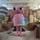 Free Shipping Pink machine pig Mascot Costume for Halloween and party