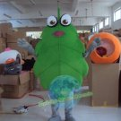 Free Shipping Green leaf Mascot Costume for Wedding Birthday Party