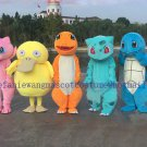 Free Shipping Pokemon Go Mascot Costume Adult Character Costume
