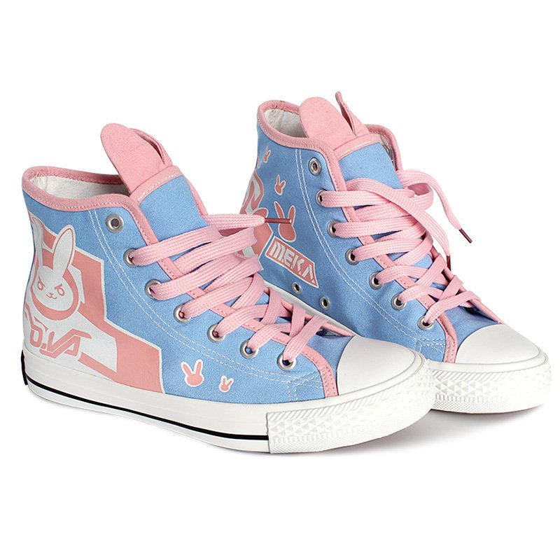 Free Shipping Overwatch D.VA sneaker casual cosplay
