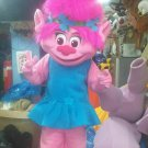Free Shipping Trolls Mascot Costume for Birthday Party Halloween and Events