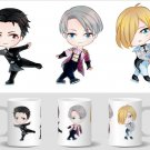 Mini Ceramic Mug: Yuri!!! on Ice Victor Nikiforov & Yuri Katsuki Anime
