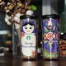 Russia Starbucks coffee travel Tumbler cup mug 16oz Yuri!!! on Ice Victor Nikiforov & Yuri Katsuki