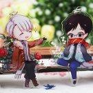 YURI!!! on ICE Victor Nikiforov Yuri Katsuki Anime Acrylic Charm Keychain Keyrin