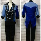 Free Shipping Yuri!!! On Ice Yuri Katsuki Dancing Costume Cosplay Gradient Color