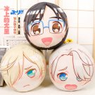 YURI!!! on ICE Victor Nikiforov Katsuki Yuri Plisetsky Dango Pillow Cushion