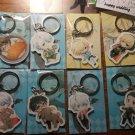 YURI!!! on ICE Victor Nikiforov Yuri Plisetsky Katsuki Anime Acrylic Charm Keychain Keyrin