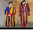 Free Shipping soldiers cosplay papal swiss guard uniform costume Halloween and Carnival costume